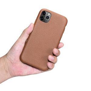 iPhone 11 Pro Max Full Wrap Case - Grain Brown