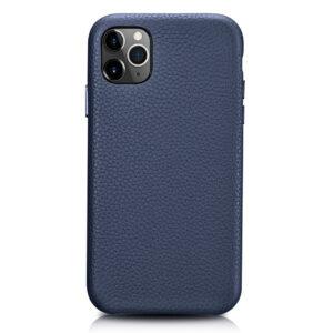 iPhone 11 Pro Max Full Wrap Case - Grain Navy Blue