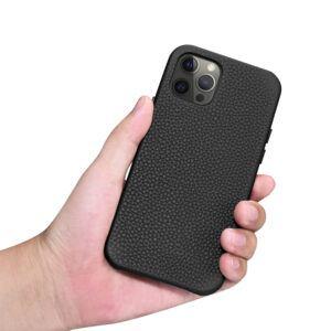 iPhone 12 Pro Max Full Wrap Case - Grain Black
