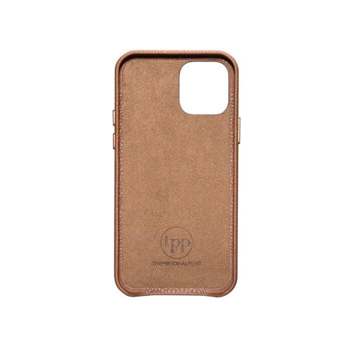 iPhone 12 Full Wrap Case - Grain Brown