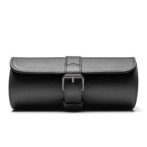 3 Watch Case- Black (Gun Metal Hardware)