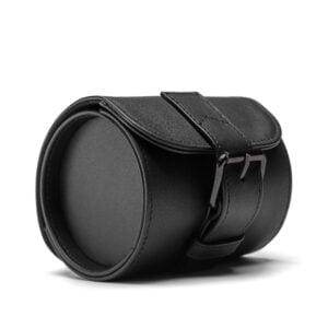 Watch Case- Black (Gun Metal Hardware)