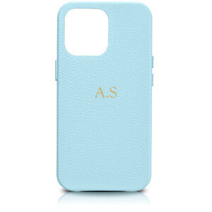 iPhone 13 Pro Max Full Wrap Case - Grain Aqua