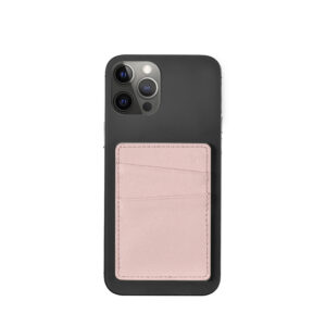 Slim Card Pocket Sleeve- Blush Nude