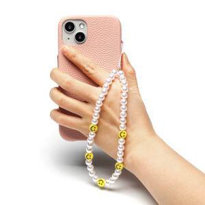 Beaded Phone Charm- La Perle Heureuse