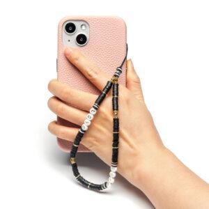 Beaded Phone Charm- Elegance