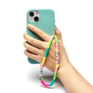 Beaded Phone Charm- Aigre Doux